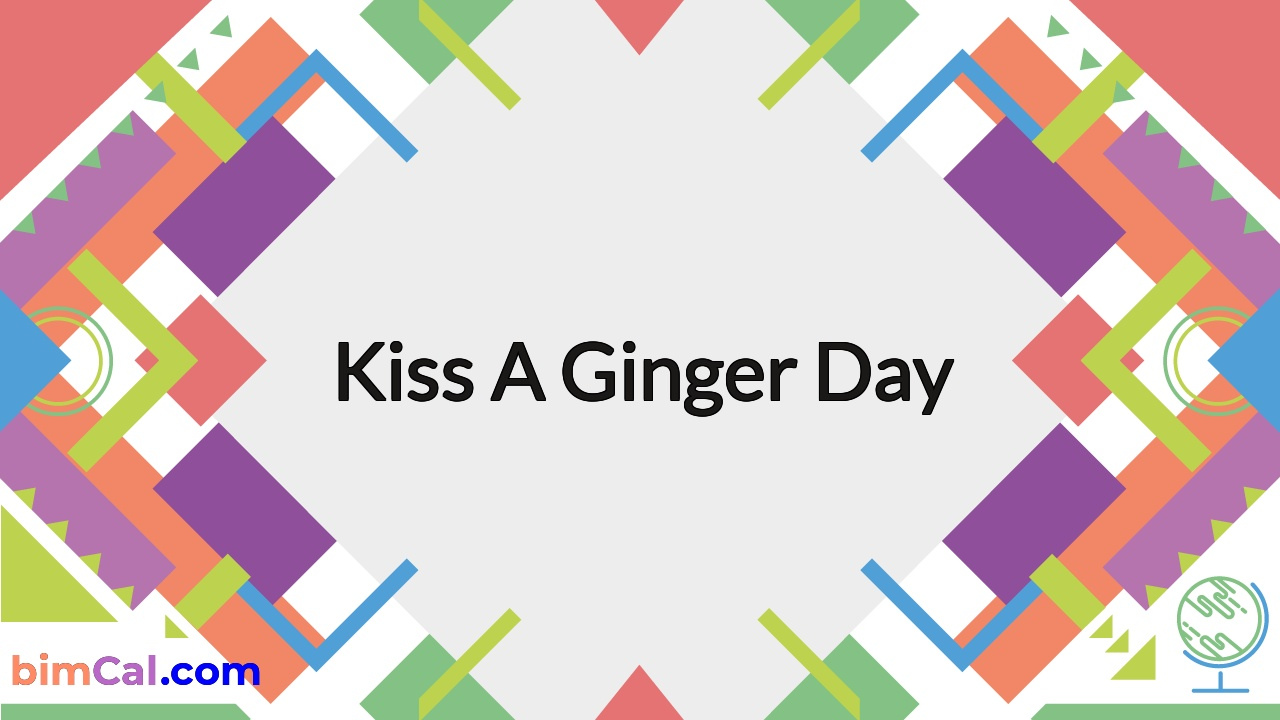Kiss a Ginger Day 2021